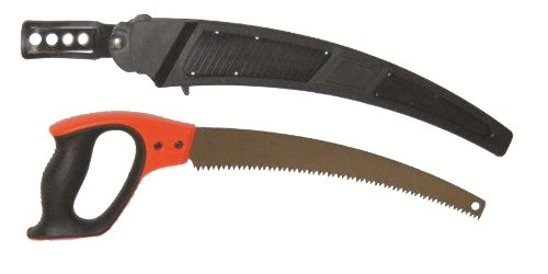 Hme Products Hand Saw with Scabbard, Orange