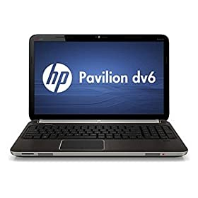 Hewlett Packard - HP Pavilion dv6t dv6tqe Quad Edition, 2nd Gen. Intel(R) Core(TM) i7-2630QM (2 GHz, 6MB L3 Cache) w/ Turbo Boost up to 2.9 GHz, 1GB ATI Mobility Radeon HD 6490M GDDR5 graphics (HDMI), 6GB DDR3 RAM, 750 Hard Drive, 15.6