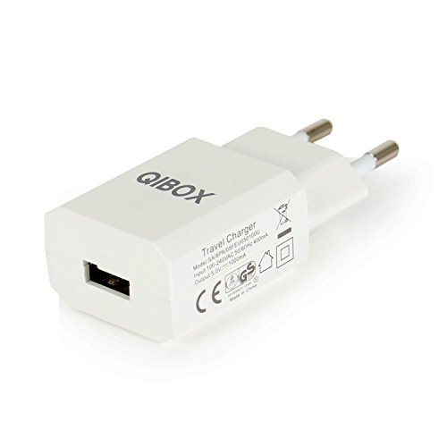 QIBOX USB AC Power Adapter Travel Wall Charger