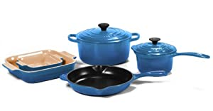 Le Creuset 7 Piece Cookware Set (Marseille)