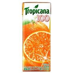 キリン トロピカーナ 100% オレンジ 250ml紙パック×24本入×(2ケース)