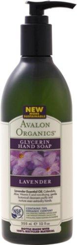 AVALON ORGANICS アバロンオーガニクス Hand Seife Lavendel-355 ml