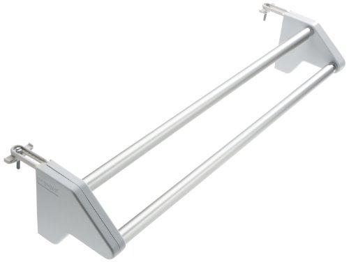 WENKO-3702100-Heizkrper-Wschetrockner-Standard-ausziehbar-Aluminium-62-110-x-115-x-13-cm-Aluminium