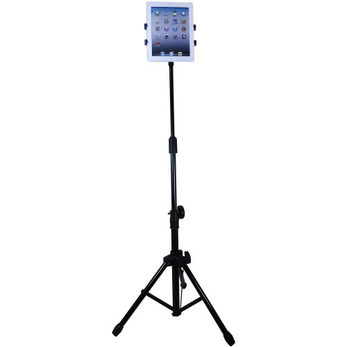 Aidata 360 Degree Rotation Table Floor Stand with Carry Case for iPads/Tablets Black Friday & Cyber Monday 2014