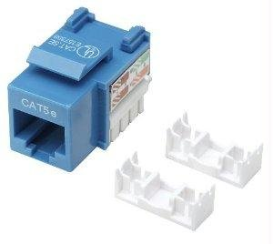 """Brand New Intell Intellinet Cat5e Keystone Jack Utp Blue Punch-Down """"Product Category: Network Device / Other"""""""