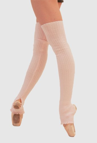 Ballet Beautiful Long 30 inch Stretch Ribbed Legwarmers