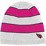 NFL Officially Licensed Breast Cancer Awareness Embroidered Beanie Hat Cap Lid (Arizona Cardinals) at Amazon.com