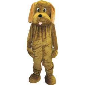Puppy Dog Mascot Adult Halloween Costume Size Standard