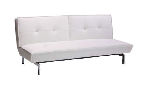 Dorel Home Products 3163 196 Belle Revolution Convertible Sleeper Futon, White