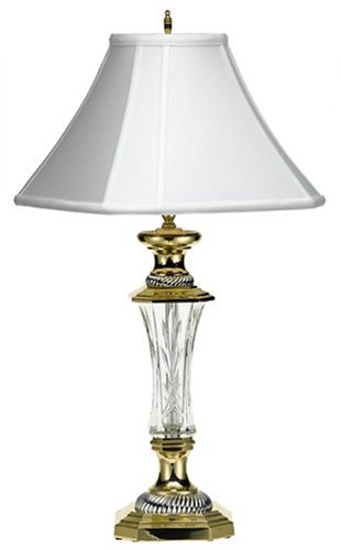 waterford crystal 29 1 2 inch florence court lamp reviews. Black Bedroom Furniture Sets. Home Design Ideas
