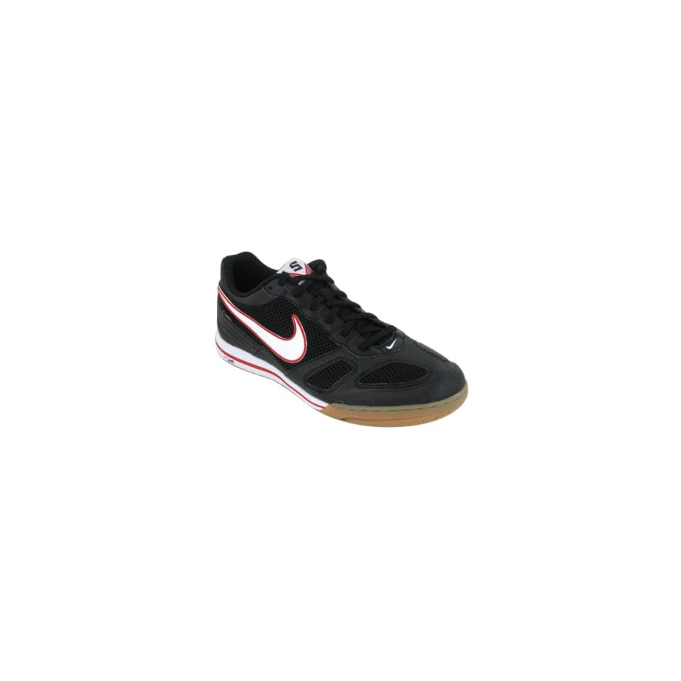 7aeb8ca29 Nike Mens NIKE AIR GATO INDOOR SOCCER SHOES 11.5 (BLACK WHITE SPORT ...
