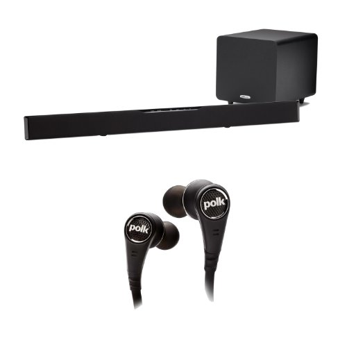 Polk Audio Surroundbar 9000 Instant Home Theater With A Free Polk Audio Ultrafocus 6000 Headphone