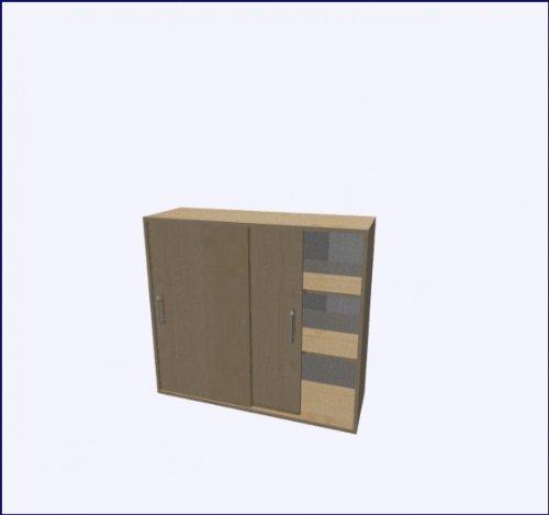Hammerbacher - Armario de dormitorio