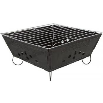 Se Grill - Portable Folding Barbeque, Closed Size 9.5X9.5X3.8In.