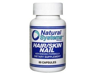 Natural Systems Hair/Skin Nail 60 Capsules Antioxidant Antiageing Vitamins
