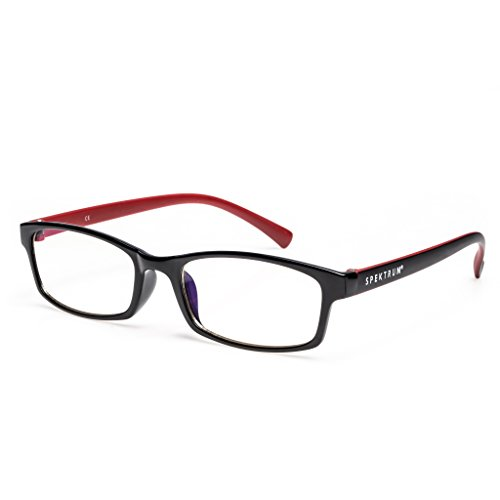 Spektrum Glasses, Computer Glasses, Anti Blue Light Computer Glasses Professional. Anti-glare, anti-reflective, anti-fatigue, UV and Computer/TV Electromagnetic Radiation Protection, Anti Fog, Scratch Resistant (Function Led Eye Protection compare prices)