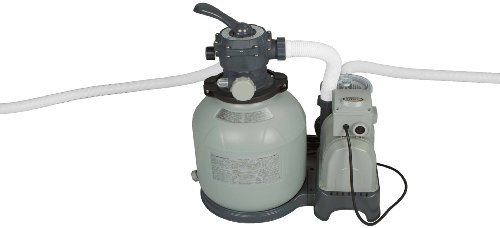Intex Sand Filter Pump with GFCI for Pools, 2800-Gallon