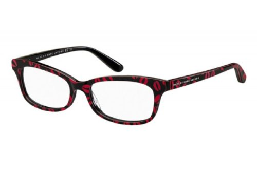 Marc By Marc Jacobs Women s 486 Black   Red Kisses Frame Plastic Eyeglasses 1bd13eff7022
