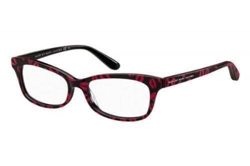 c3d01c98993fba Marc By Marc Jacobs Women s 486 Black   Red Kisses Frame Plastic Eyeglasses