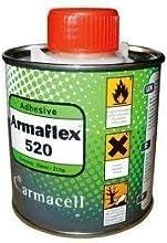 Autoadhesivo Armaflex 520 (0. 5ltr) para Clase O Hoja Armaflex Aislamiento y Tubos, 500 ml Bote