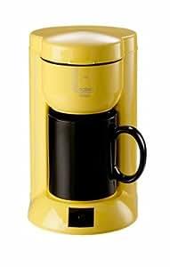 solac c120am ein tassen kaffeemaschine unica gelb. Black Bedroom Furniture Sets. Home Design Ideas
