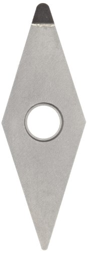 American Carbide Tool Polycrystalline Diamond Tipped Insert, Pcd15 Grade, Vnga-332 Style, 3/8-Inch Ic Size