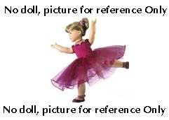 """""""Ballet Costume Outfit"""" for 18"""" American Girl Doll"""