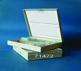 Molded, 100- Microscope Slide Box