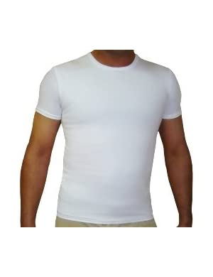 Mens Gynecomastia Chest Binder Girdle T-shirt