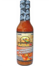 Mayanik Red Habanero Pepper Sauce by Mayanik