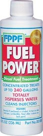 FPPF 90101 FUEL POWER 1 GAL. BOTTLE TREATS 3840 GALLONS OF DIESEL FUEL PER BOTTLE (Fppf Fuel Treatment compare prices)