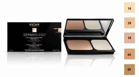 BACKGROUND Dermablend VICHY COMPACT trucco cosmetico CORRETTORE CORRETTIVA 16 H 25 NUDE