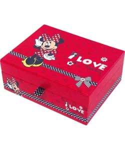 Minnie mouse jewellery box ij629ia garden for Minnie mouse jewelry box