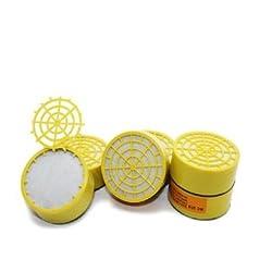 Activated Carbon Filter Cartridges For Respirators Gas Masks