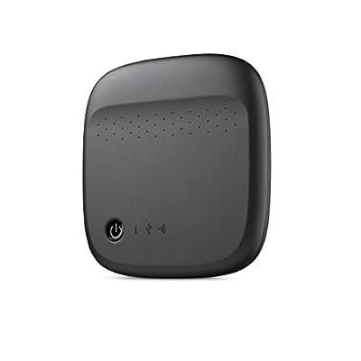 Seagate Wireless Mobile Portable Hard Drive Storage 500GB (Black)