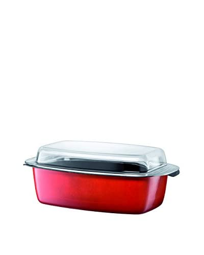 Silit 5.5-Qt. Roasting Pan With Lid, Red