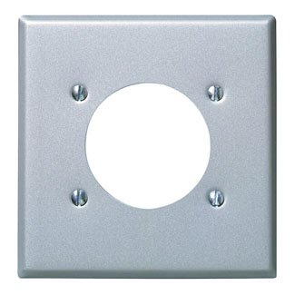 Leviton 2 Gang Range Or Dryer Switch Plate Device Gray [Misc.]