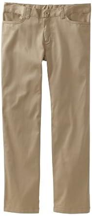 Classroom Big Girls'  Stretch Matchstick Legging Pant, Khaki, 7