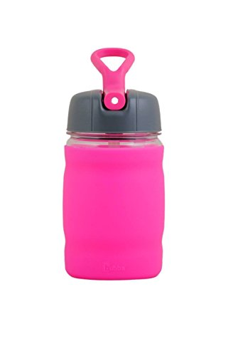 bubba 12 oz silicone sport bottle pink