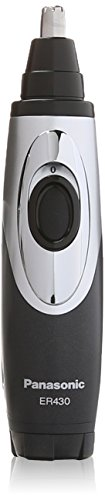 Panasonic-ER430K-Ear-Nose-Trimmer-with-Vacuum-Cleaning-System-Mens-WetDry-Battery-Operated
