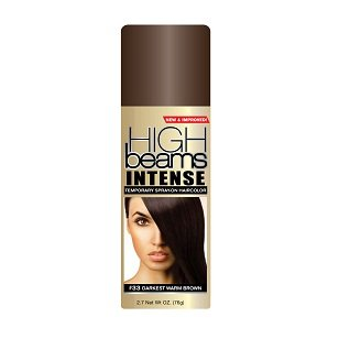 Best Cheap Deal for High Beams Intense Temporary Spray-On Hair Color - Darkest Warm Brown 2.7 oz from Continental Consumer Product - Free 2 Day Shipping Available