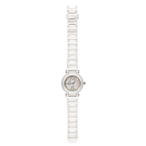 Charmex Dynasty Femme 35mm Blanc Céramique Bracelet Saphirglas Montre 6270