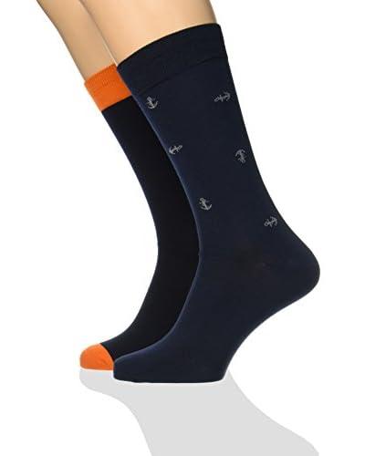 Dockers 2tlg. Set Socken Seasonal Anchors