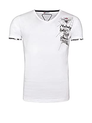 Nebulus Camiseta Manga Corta (Blanco)