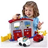 Fisher Price World of Little People Emergency Fire Station