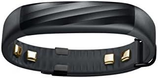 【日本正規代理店品】Jawbone UP3 ワイヤレス活動量計リストバンド 9/4ファームウェア更新によりシームレスな睡眠計 心拍計 ブラックツイスト JL04-0303ABD-JP