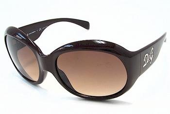Dolce & Gabbana Sunglasses AUTHENTIC Unisex Brown Shaded D&G 8045B 525/13