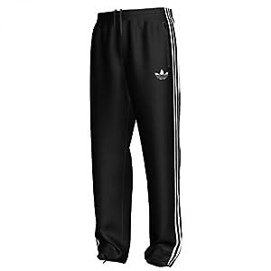 adidas Herren Trainingshose Firebird, black/white, S, 743963