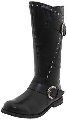 Harley-Davidson Women's Sapphire Riding Boot ,Black,5 M US