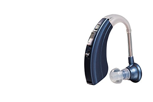 Britzgo Digital Hearing Amplifier BHA-220S, Modern Blue,500 HOURS per Battery, Doctor and...